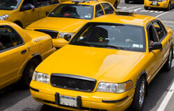 Fleet of taxis needing insurance